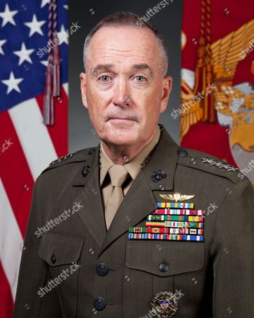 Editorial photo of Gen. Joseph F. Dunford Jr., chairman of the Joint Chiefs of Staff US Marine Corps, USA - 19 Sep 2014