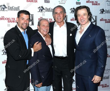 Editorial photo of 'The Brooklyn Banker' film premiere, New York, USA - 02 Aug 2016