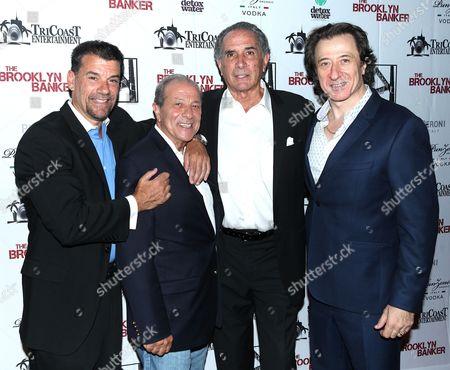 Stock Image of John Bianco, Arthur Nascarella, Artie Pasquale and Federico Cast