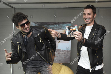 Stock Photo of Dante Spinetta and Emmanuel Horvilleur