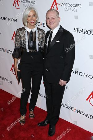 Stock Photo of Linda Fargo and Joshua Schulman