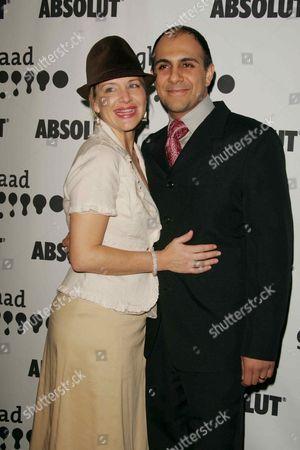 Anthony Azizi and wife