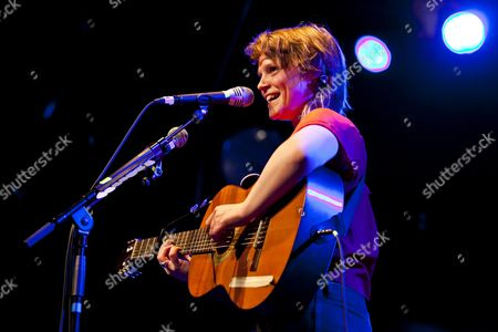 The Irish singer-songwriter and musician Wallis Bird performing live at the Schueuer, Lucerne, Switzerland