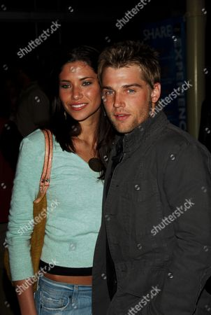 Mike Vogel and wife Courtney Vogel