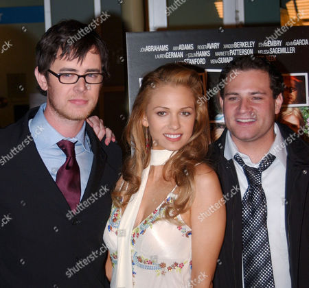 Colin Hanks, Marne Patterson and Matthew Cole Weiss