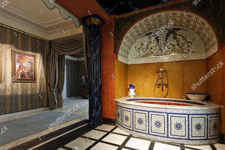 Roman bath, Ernst Fuchs Museum, former mansion of architect Otto Wagner, Vienna, Austria