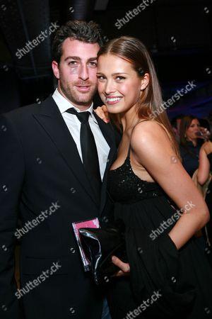 Stock Picture of Mark Birnbaum and Petra Nemcova