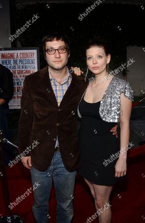 Adam Busch and Amber Benson