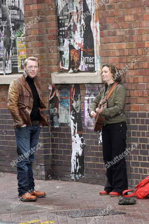 Ronan Keating with singer Kate Rusby
