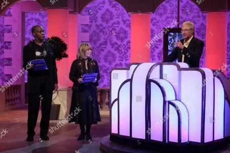 Danny Glover with Cynthia Lennon and Paul O'Grady