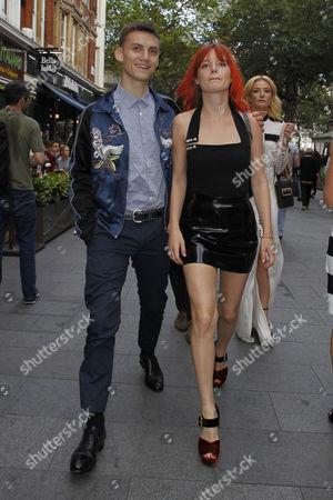 Josh McLellan and Georgia May Jagger