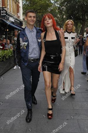 Stock Picture of Josh McLellan and Georgia May Jagger