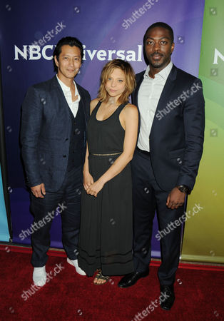 Will Yun Lee, Lizzie Brochere and David Ajala