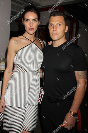 Stock Picture of Hilary Rhoda and Sean Avery