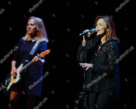 Charlotte Caffey and Belinda Carlisle