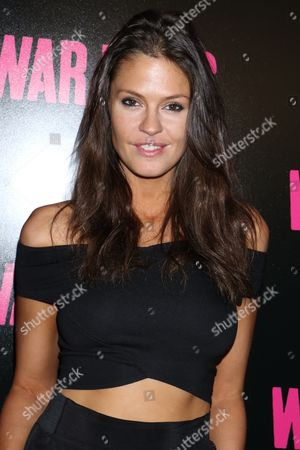 Editorial image of 'War Dogs' film screening, Arrivals, New York, USA - 03 Aug 2016