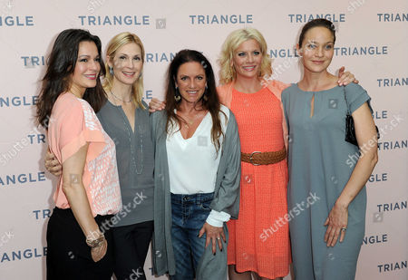 Stock Picture of Suzan Anbeh, Kelly Rutherford, Christine Neubauer, Eva Habermann, Jeanette Hain