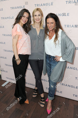 Stock Photo of Suzan Anbeh, Kelly Rutherford, Christine Neubauer
