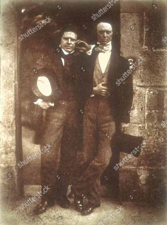 David Octavius Hill and Robert Adamson at Rock House in the earliest days of photography