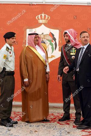 Prince Hamzeh Bin Al-Hussein, Sheikh Mohamad Bin Ibrahim Abu Nayan , Prince Hashem Bin al-Hussein and Prince Faisal Bin Al- Hussein