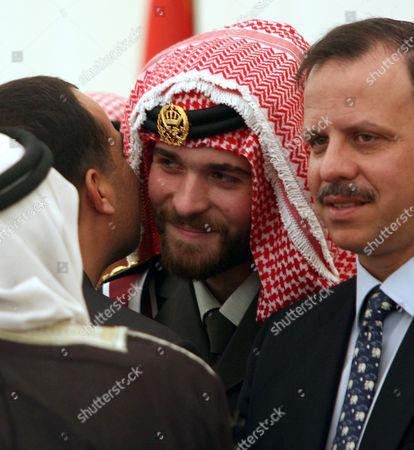 Prince Hashem Bin al-Hussein and Prince Faisal Bin Al- Hussein