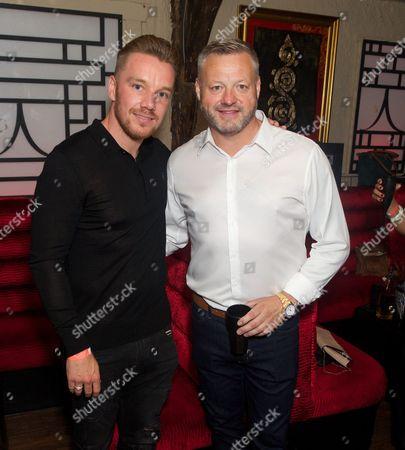 Jamie O'Hara (ex-Spurs footballer) and Mick Norcross