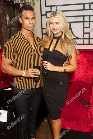 Rykard Jenkins and Rachel Fenton