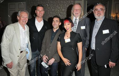 Paul Copley, Tim Vincent, Andrew Collins, Saffron Sprackling, Ri