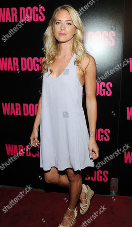 Editorial photo of 'War Dogs' film screening, Arrivals, New York, USA - 03 Aug 2016