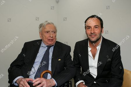 Gore Vidal and Tom Ford