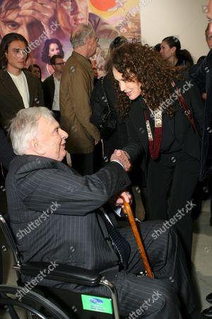 Gore Vidal and Karen Black