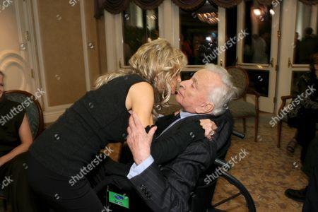 Farrah Fawcett and Gore Vidal