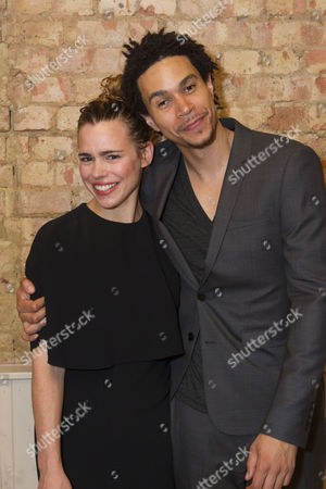 Billie Piper and John Macmillan