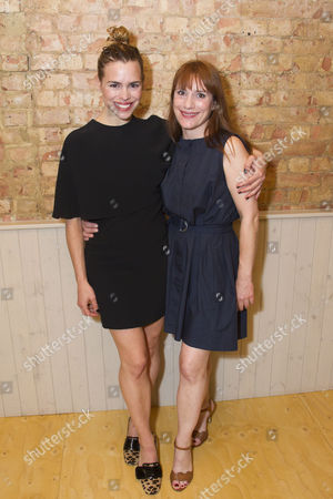 Billie Piper and Charlotte Randle