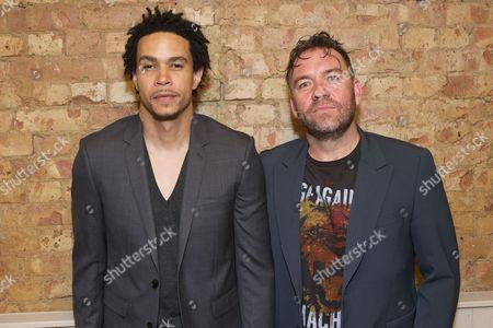 John Macmillan (Victor) and Brendan Cowell (John)