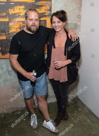 Paul Stephenson and Ania Sowinski