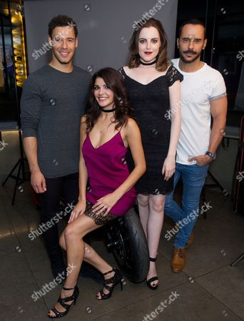 David Albury, Natalie Anderson, Niamh Perry and Michael Greco