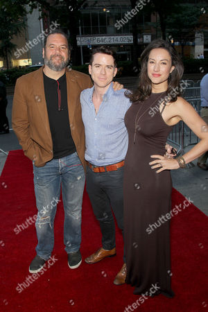 Stock Photo of Dwayne Hill, America Olivo, Christian Campbell