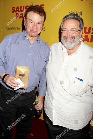 Robert Wuhl and Drew Nieporent