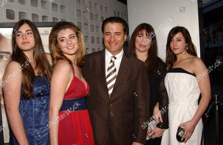 Alessandra Garcia, Daniella Garcia with Andy, Marivi Lorido and Dominique Garcia