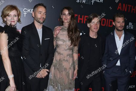 Stock Picture of Ana Geislerova, Sean Ellis (Director), Charlotte Le Bon, Cillian Murphy and Jamie Dornan