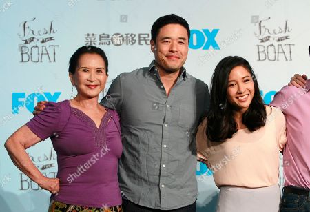 Lucille Soong, Randall Park, Constance Wu
