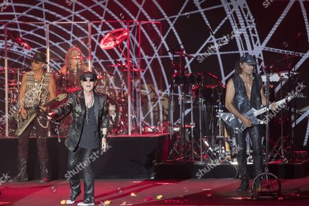 Editorial picture of Scorpions in concert, Monaco, France - 02 Aug 2016