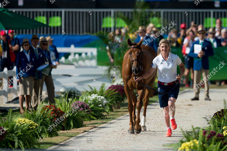 Kristina Cook (GBR) & Billy the Red - Eventing - First Horse Inspection ? Rio 2016 Olympic Games ? Deodoro, Rio de Janeiro, Brazil ? 05 August 2016