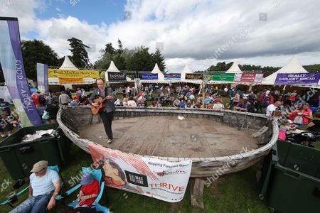 Editorial image of Belladrum Tartan Heart music festival, Beauly, Scotland, UK - 05 Aug 2016