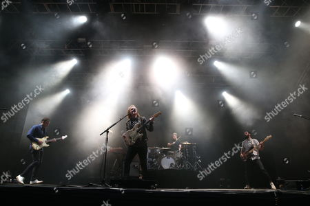 Two Door Cinema Club - Sam Halliday, Jacob Berry, Alex Trimble, Benjamin Thompson and Kevin Baird