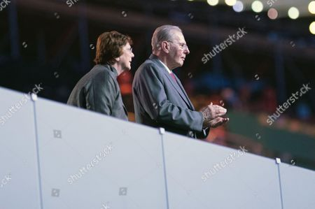 Former IOC president, Jacques Rogge and his wife
