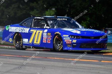 Stock Photo of NASCAR XFINITY Series driver Derrick Cope #70 during the NASCAR XFINITY Series Zippo 200