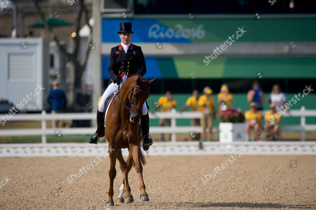 Tina Cook (GBR) & Billy the Red - Eventing - Dressage (Team & Individual) ? Rio 2016 Olympic Games ? Deodoro, Rio de Janeiro, Brazil ? 06 August 2016