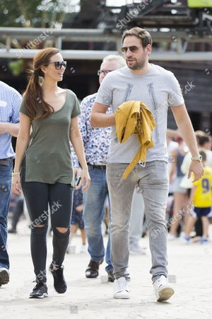 Stock Picture of Jennifer Metcalfe and Greg Lake